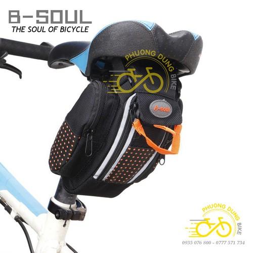 Túi treo yên sau xe đạp B-Soul viền phản quang - 7920377 , 17539668 , 15_17539668 , 130000 , Tui-treo-yen-sau-xe-dap-B-Soul-vien-phan-quang-15_17539668 , sendo.vn , Túi treo yên sau xe đạp B-Soul viền phản quang