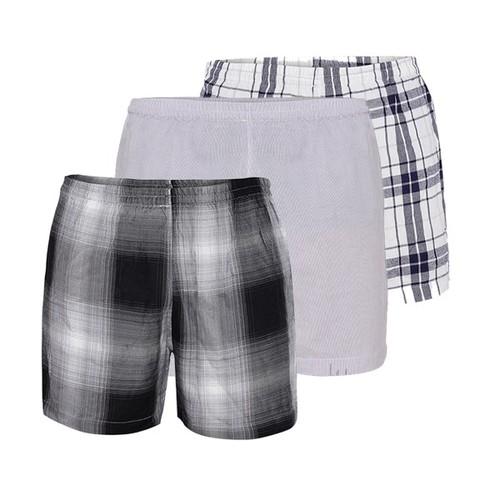 Combo 3 quần short nam vải cotton thoáng mát QSC004