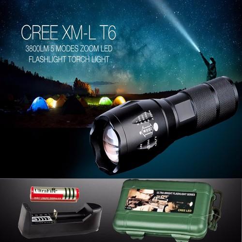 Đèn pin siêu sáng , Đèn led siêu sáng, Đèn pin sạc siêu sáng XML-T6  Loại Tốt, Nhỏ Gọn, Chống Nước, Dễ Sử Dụng, Bảo Hành Uy Tín 1 Đổi 1 Toàn Quốc