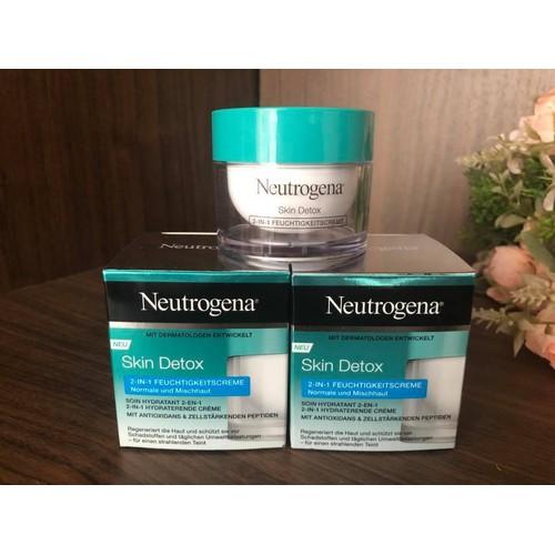 Kem dưỡng ẩm và thải độc Neutrogena Detox 2 in 1 - 7921664 , 17541908 , 15_17541908 , 450000 , Kem-duong-am-va-thai-doc-Neutrogena-Detox-2-in-1-15_17541908 , sendo.vn , Kem dưỡng ẩm và thải độc Neutrogena Detox 2 in 1