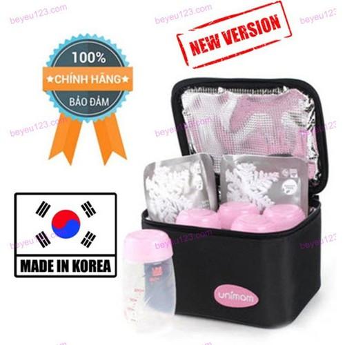 Túi giữ lạnh, giữ nhiệt Unimom UM870016 [Kèm 5 bình trữ sữa Unimom 150ml và 2 bịch đá khô Unimom] [Made in Korea] [Tốt và rẻ so với Medela, Spectra] - Unimom UM870016 b - 4889784 , 17535272 , 15_17535272 , 590000 , Tui-giu-lanh-giu-nhiet-Unimom-UM870016-Kem-5-binh-tru-sua-Unimom-150ml-va-2-bich-da-kho-Unimom-Made-in-Korea-Tot-va-re-so-voi-Medela-Spectra-Unimom-UM870016-b-15_17535272 , sendo.vn , Túi giữ lạnh, giữ nhiệ