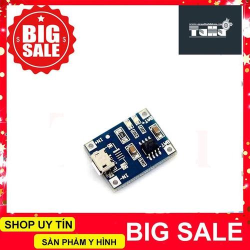 Mạch sạc pin lithium tp4056 1a micro usb giá rẻ - 17249878 , 19316227 , 15_19316227 , 14990 , Mach-sac-pin-lithium-tp4056-1a-micro-usb-gia-re-15_19316227 , sendo.vn , Mạch sạc pin lithium tp4056 1a micro usb giá rẻ