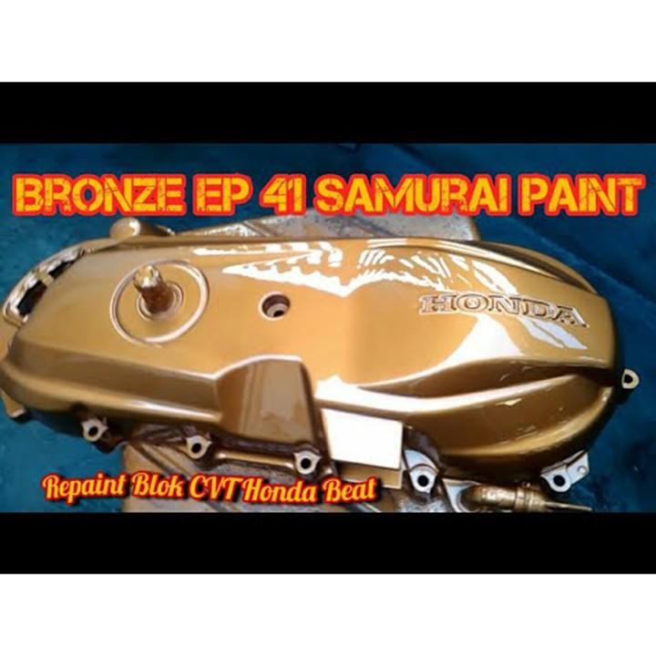 EP41 _ Sơn xit Samurai EP41 màu đồng lốc máy _ Bronze _Tốt, giá rẻ, ship nhanh 10