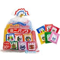 Gia vị rắc cơm Nhật Bản 6 vị 30 gói