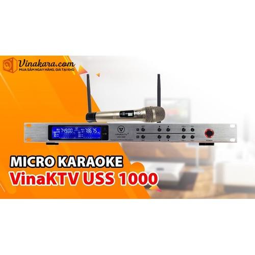 Micro Không Dây VinaKTV USS 1000