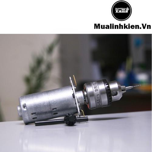 Combo Khoan mini siêu khỏe 12V-2A kèm 11 Mũi Khoan cao cấp