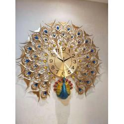 đồng hồ treo tường trang trí phòng KHÁCH