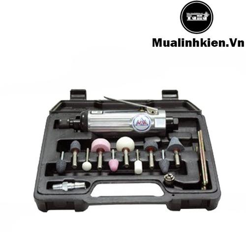 Bộ Máy Mài Hơi Mini Cầm Tay Die Grinder 8206 Trục Kẹp 3mm-6mm