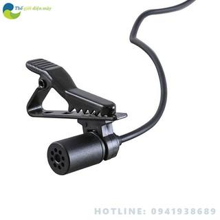 Micro thu âm chuyên nghiệp Boya-M1 cài áo cao cấp đa năng cho máy ảnh điện thoại, máy ảnh dslr, camera hành động tặng kèm jack chuyển 6.5 - Bảo hành 1 năm - Shop Thế giới điện máy - BO-MICRO-BOYA-M1 thumbnail