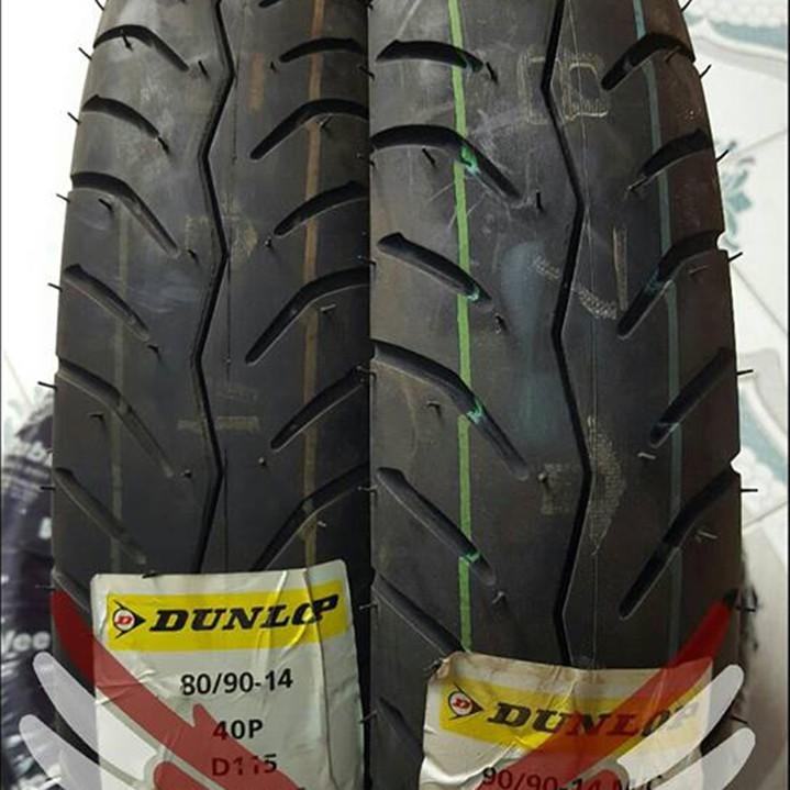 Lốp xe Dunlop 80-90-14 D115 TL Vỏ xe máy Dunlop size 80.90-14 D115 TL 40P Trùm Dunlop Việt Nam, giá rẻ, uy tín 4