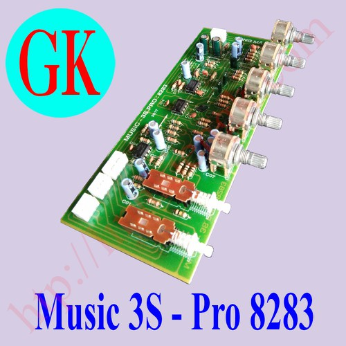 Bo Music 3s pro 8283 Song Mã - mạch chỉnh âm sắc