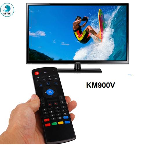 Chuột bay Air Mouse kiêm Remote KM900V tích hợp giọng nói