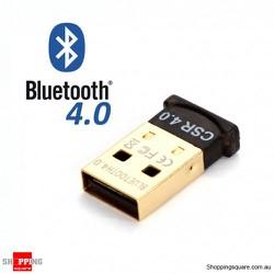USB Bluetooth 4.0 CSR Dongle cho máy tính không cần đĩa cài
