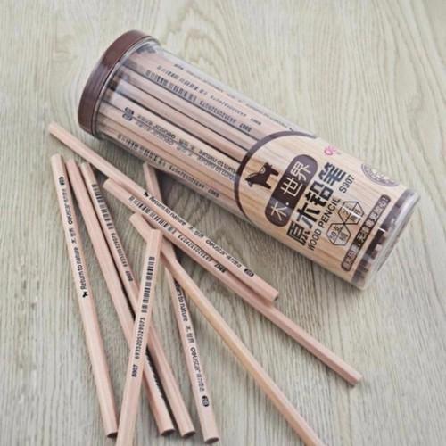 Hộp 50 bút chì gỗ 2B- Bút chì cho bé-Bút chì gỗ