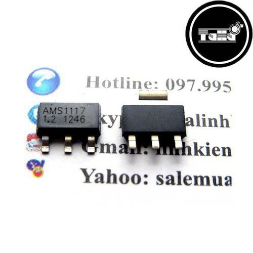 AMS1117-1V2 SOT223 Giá Rẻ - 7917326 , 17534103 , 15_17534103 , 2500 , AMS1117-1V2-SOT223-Gia-Re-15_17534103 , sendo.vn , AMS1117-1V2 SOT223 Giá Rẻ