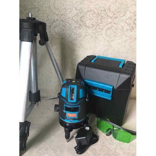 Máy laser 5 tia xanh kèm chân 1m2