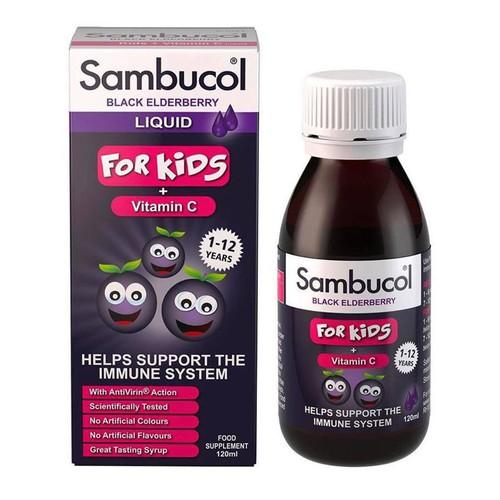 Siro tăng sức đề kháng Sambucol