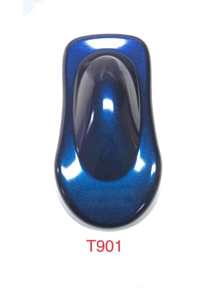 T901 _ sơn xịt Samurai paint K6 - T901 màu 3D xanh ánh tím  đổi màu theo góc nhìn, uy tín, giá rẻ, giao nhanh 4