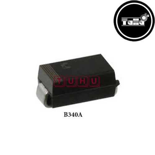 Combo 50  Diode Schottky B340A 3A-40V Giá Rẻ - Linh Kiện Điện Tử TuHu