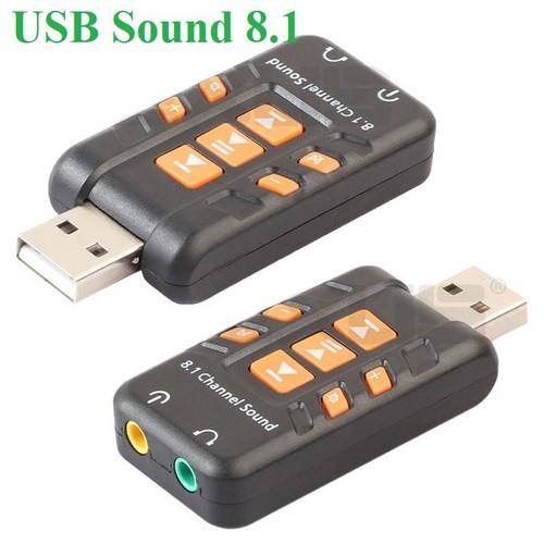 USB Chuyển đổi âm thanh 8.1