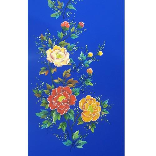 Vải áo dài vẽ tay cao cấp Hoa Mẫu Đơn - 7677660 , 17528737 , 15_17528737 , 450000 , Vai-ao-dai-ve-tay-cao-cap-Hoa-Mau-Don-15_17528737 , sendo.vn , Vải áo dài vẽ tay cao cấp Hoa Mẫu Đơn