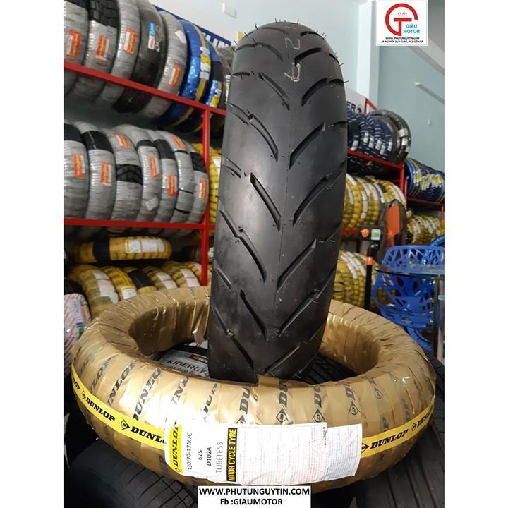 Vỏ xe máy Dunlop 120-70-17  D102 Lốp  xe máy Dunlop 120-70-17 D102 _ Tổng Dunlop Việt Nam, giá rẻ, uy tín, chất lượng 7