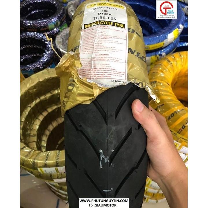 Vỏ xe máy Dunlop 120-70-17  D102 Lốp  xe máy Dunlop 120-70-17 D102 _ Tổng Dunlop Việt Nam, giá rẻ, uy tín, chất lượng 2