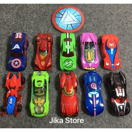 Bộ đồ chơi siêu xe của chiến binh Avenger Jika Store