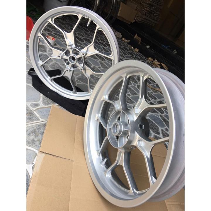 W39 _Sơn xit Samurai w39 màu bạc kim loại sơn mâm_ Metallic Silver  Tốt, giá rẻ, giao nhanh 6