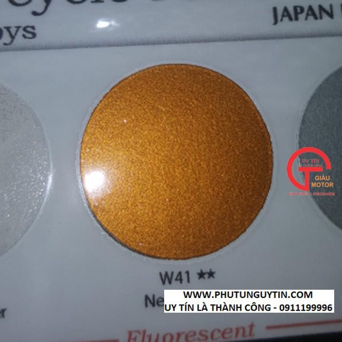 W41 _Sơn xit Samurai w41 màu ĐỒNG kim loại sơn mâm _ NEW BRONZE  Tốt, giá rẻ, giao nhanh 5