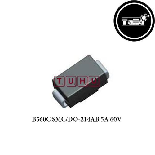 Combo 3 b560c smc-do-214ab 5a 60v giá rẻ - linh kiện điện tử tuhu
