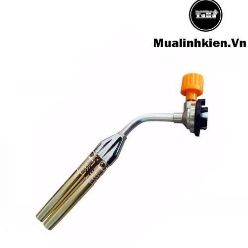 Khò gas đôi lắp bình gas mini tiện lợi