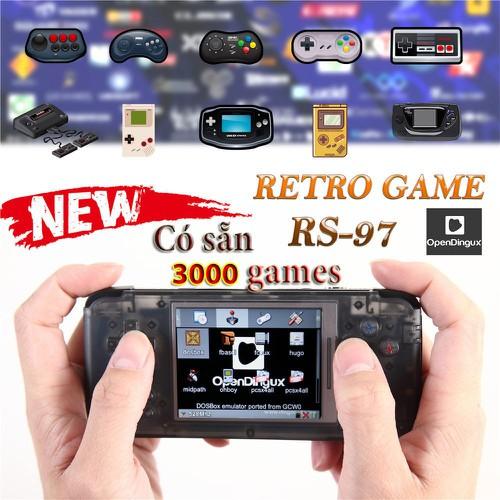 máy retro game plus 2019 tích hợp 3000 trò giả lập 10 hệ máy