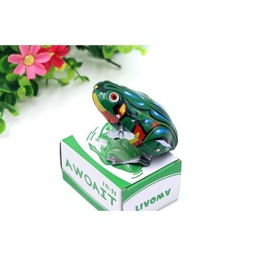 Đồ chơi con ếch nhảy lên khi nhấn cực hay
