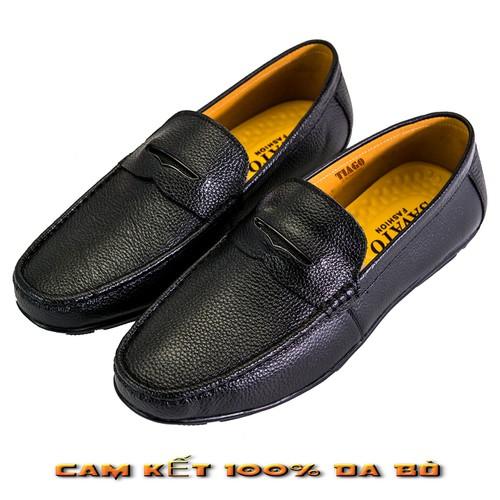 giày nam giày mọi giày da bò thật