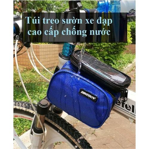 Túi treo sườn xe đạp cao cấp chống nước