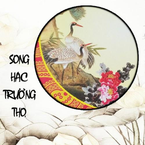 20 giấy tập viết thư pháp Song Hạc
