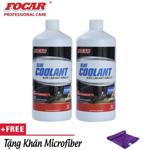 Bộ 2 chai nước làm mát động cơ ô tô Focar Blue Coolant 1L - Tặng khăn lau Microfiber - 4895280 , 17564287 , 15_17564287 , 430000 , Bo-2-chai-nuoc-lam-mat-dong-co-o-to-Focar-Blue-Coolant-1L-Tang-khan-lau-Microfiber-15_17564287 , sendo.vn , Bộ 2 chai nước làm mát động cơ ô tô Focar Blue Coolant 1L - Tặng khăn lau Microfiber