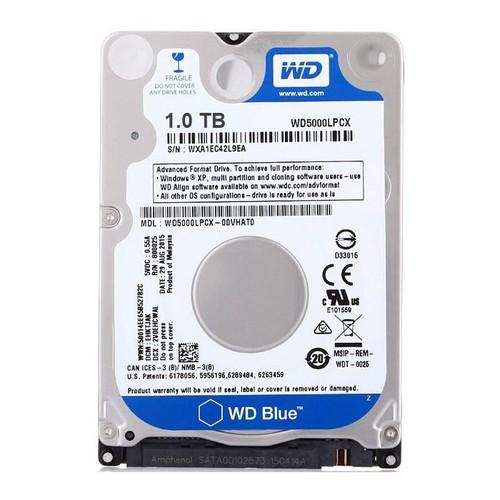 Ổ cứng gắn trong dành cho Laptop HDD Western 1TB SATA 6Gbs