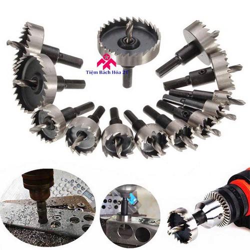 Bộ 13 mũi khoan khoét lỗ hợp kim HSS cao cấp - Khoan gỗ, nhôm, nhựa - 7580403 , 17575557 , 15_17575557 , 550000 , Bo-13-mui-khoan-khoet-lo-hop-kim-HSS-cao-cap-Khoan-go-nhom-nhua-15_17575557 , sendo.vn , Bộ 13 mũi khoan khoét lỗ hợp kim HSS cao cấp - Khoan gỗ, nhôm, nhựa