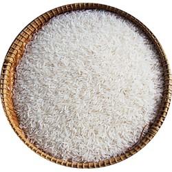 Gạo ST20 Lài Bún 10Kg - hạt thon dài,dẻo nhiều,thơm ngọt cơm - Túi PP TRắng Trơn