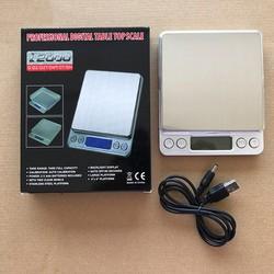 Cân điện tử Mini 3 kg đến 0.1 gr hỗ trợ nguồn USB