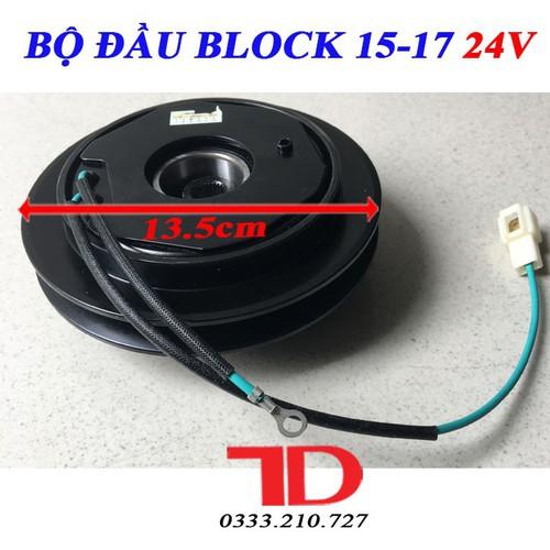 Bộ đầu Block 15-17 loại 24V