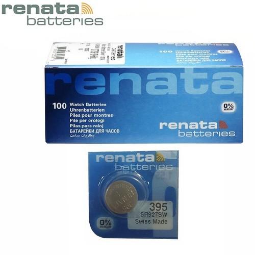 Pin đồng hồ SR927SW 395 Renata Silver Oxide 1.55V chính hãng - Vỉ 1 viên