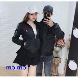 Áo  khoác dù NAM NỮ cao cấp nón có thể tháo rời