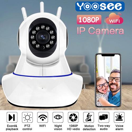 Camera IP Wifi Yoosee 3 Râu Full HD 1080P Không Dây Phiên Bản 2019 - 11564397 , 17567431 , 15_17567431 , 429000 , Camera-IP-Wifi-Yoosee-3-Rau-Full-HD-1080P-Khong-Day-Phien-Ban-2019-15_17567431 , sendo.vn , Camera IP Wifi Yoosee 3 Râu Full HD 1080P Không Dây Phiên Bản 2019