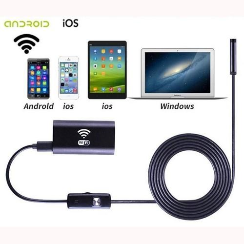 Camera sửa xe nội soi Wifi chống nước độ nét cao HD720P cáp dài 5m