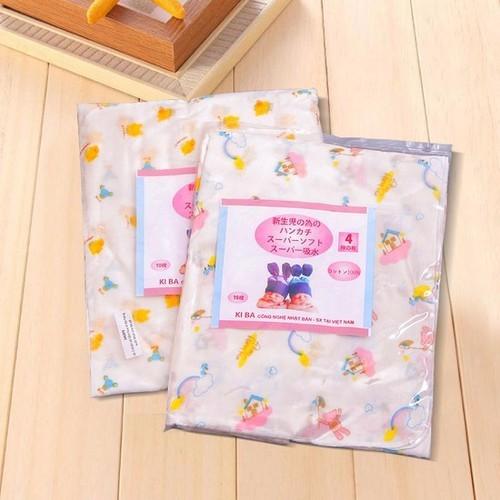 Khăn xô tắm in hoa xuất Nhật