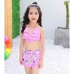 Bikini viền sóng bé gái 3 đến 6 tuổi hàng quảng châu kèm ảnh chụp thật