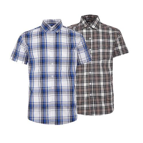 Combo 2 áo sơ mi nam sọc caro phong cách mới SMC2710